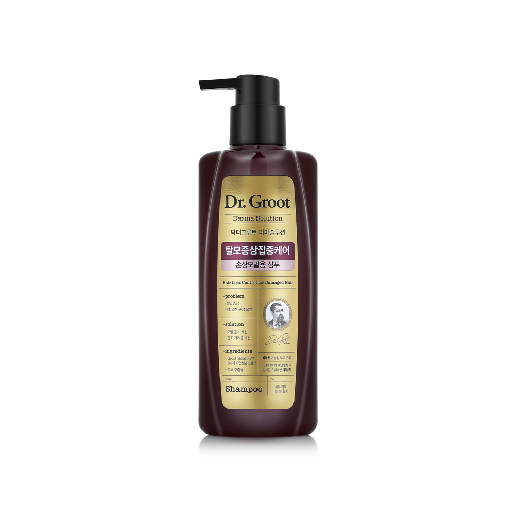 Dr Groot Hair Loss Damaged Hair Shampoo - THEFACESHOP – Nature Collection